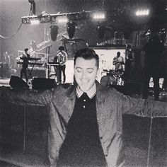 """BRIXTON. I've been waiting for this moment for a long time. Hope you're all ready and raring to go???"" - Sam Smith"