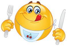 hungry emoticon sticker