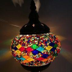 Table Mosaic Lamp - D / EU plug