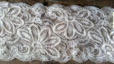 Vintage Cream Lace Antique Trims 4 Wide Stretch