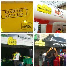 #MegaVitaminas presente nas principais assessorias esportivas do Recife!