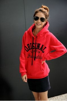 Modern Letters Printing Hoodie on BuyTrends.com, only price $15.00