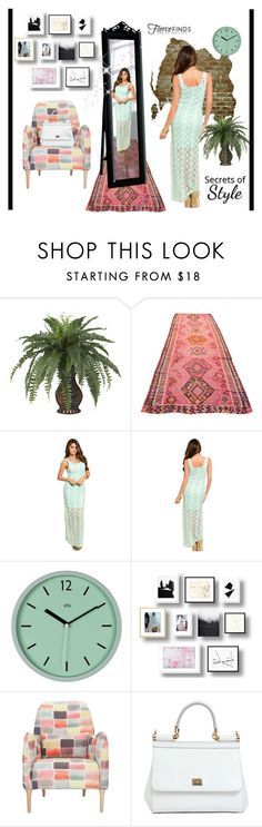 Lace Maxi Dress by ellyandeddy-mendo on Polyvore featuring Dolce&Gabbana and fiercefinds