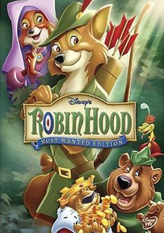 Disney Robin Hood Most Wanted Edition DVD Single Disc