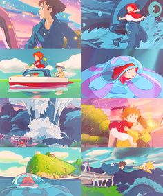 Ponyo- I love everything about this movie/ anime. A great adventurous story for all ages.