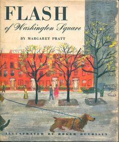 Flash of Washington Square | illustrations by Roger Duvoisin 1954