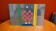 Metal magnetic memo board (was a present)