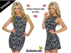 ❤ I dag er der kommet flere skønne nyheder hjem til shoppen ❤ Vi synes at vores nye Hailey kjole er super fin ❤ Hvad synes du om den?  http://bellanordic.dk/festkjoler/1063-hailey-festkjole-sorthvid.html