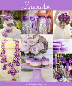 "Purple Wedding Color - Purple continues to be a popular and beloved wedding color, just as it has been for several decades. The color purple includes a wide variety of shades from traditional ""roya..."