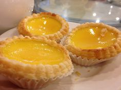 Cooking Classy: Egg Tarts