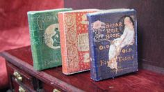 Miniature Fairy Tale Books by LDelaney