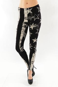 GB America III Leggings, $27.00 by Appealing Boutique