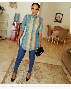 Hello here are some lovely ankara styles for the lovely ladies. Short African Dresses, African Blouses, African Tops, African Shirts, African Print Dresses, African Fashion Ankara, Latest African Fashion Dresses, African Print Fashion, Africa Fashion