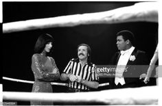 Cher and Muhammad Ali (em)
