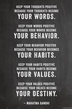 Stay positive // Gandhi #words #quotes
