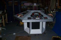 4th Doctor homemade Tardis console