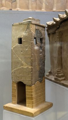 Terracotta model of a tower from Vulci | Flickr - Photo Sharing!