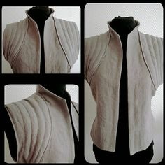 Made to order: Rey vest linen Star Wars cosplay jedi the