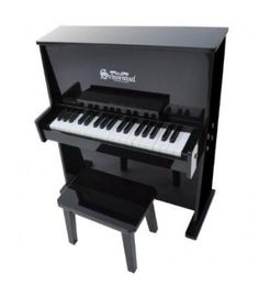Schoenhut Black Daycare Durable Spinet Piano is made of solid maple and birch plywood, it is crafted entirely by hand and built to endure active play. Schoenhut's Daycare Durable Spinet Piano is available in Black, White, Oak and Mahogany. Spinet Piano, Best Piano, Baby Grand Pianos, Piano Bench, Upright Piano, Piano Lessons, Piano Music, Teaching Kids, Musicals