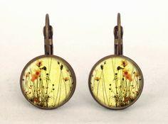 WILD FLOWERS Earrings, 0213ERB from EgginEgg by DaWanda.com