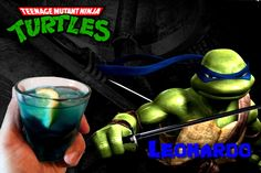 Teenage Mutant Ninja Turtles Cocktails: Leonardo