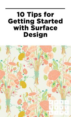 Learn how Bonnie Christine got her start in surface design (and how you can do the same!) in this post from CreativeLive.