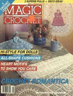 Magic Crochet Nº 73 (1991) - jaya - Picasa Web Albums... FREE MAGAZINE!!