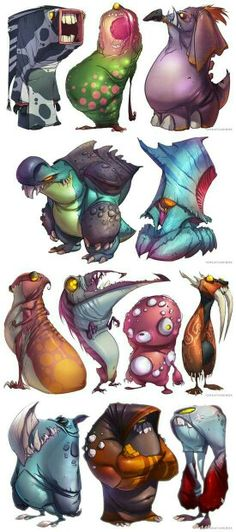 Assortment of very intrestin monsters part 1
