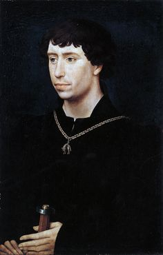 Portret van Karel de Stoute, 1460-1464, Belijn, Gemäldegalerie.