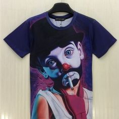 Drama Clown t-shirt for men | Graphic tees for men | t-shirts from Casual Wear Shop
