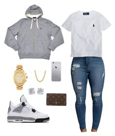 """""""Untitled #7"""" by madisonm15-1 on Polyvore featuring NIKE, Michael Kors, Ralph Lauren, Louis Vuitton and Tiffany & Co."""