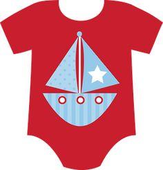 BABY BOY ONESIE CLIP ART
