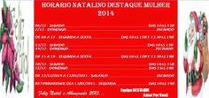 DESTAQUE : HORÁRIO DE NATAL DESTAQUE