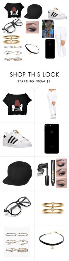 """""""Untitled #12"""" by laliew ❤ liked on Polyvore featuring adidas, UB by N.A.R., Sophie Bille Brahe and Boohoo"""