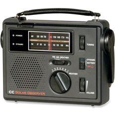 C Crane CC Solar Observer Radio