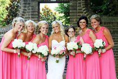 noiva e madrinhas de rosa - Pesquisa Google