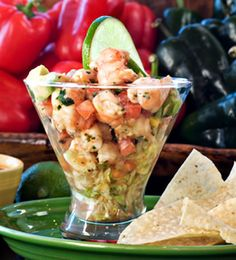 Shrimp Ceviche w/ Red Snapper
