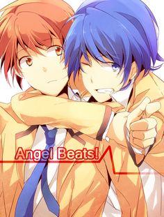 Hinata and Otanashi (Angel Beats)