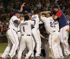 Texas Rangers Win