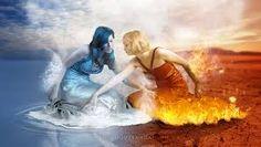 Bildergebnis für water fire