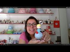 Vida com Arte | Lembrancinha para Festa em biscuit por Angela Rocha - 01 de Dezembro de 2014 - YouTube