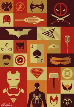 DC & Marvel Superheroes - Fikri Fauzan Hasan