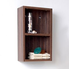 Walnut Bathroom Linen Side Cabinet w/ 2 Open Storage Areas https://www.studio9furniture.com/bathroom/linen-cabinets/fresca-walnut-bathroom-linen-side-cabinet-w-2-open-storage-areas  This cabinet with 2 open storage areas comes with a smooth walnut finish and made from a MDF/laminate material.