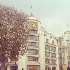 Louis Vuitton store,Paris