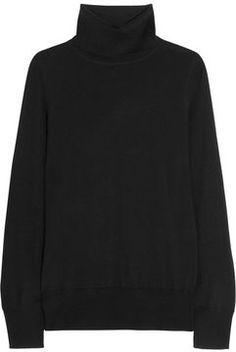 J.Crew Fine-knit merino wool turtleneck sweater on http://stylecom.shopstyle.com