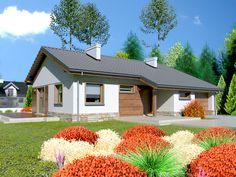 DOM.PL™ - Projekt domu Dom przy Przyjemnej 5 bis CE - DOM EB4-18 - gotowy projekt domu