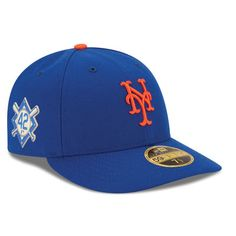 Men s New Era Royal New York Mets 2018 Jackie Robinson Day Low Profile 59FIFTY  Fitted Hat d0555a9a48a