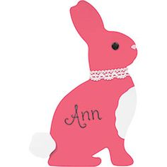 Brighten your springtime table with these sweet Bunny Place Cards.