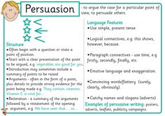 persuasive writing speech ks2 Enhance key stage 2 pupils' persuasive writing activities with five short videos, designed to spark their imaginations and begin activities made for years.