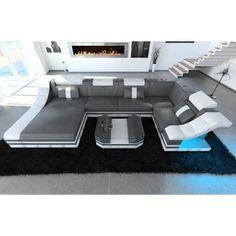 xxl sofa l form, details zu wohnlandschaft 6 teile modulares sofa xxl u-form l-form, Design ideen